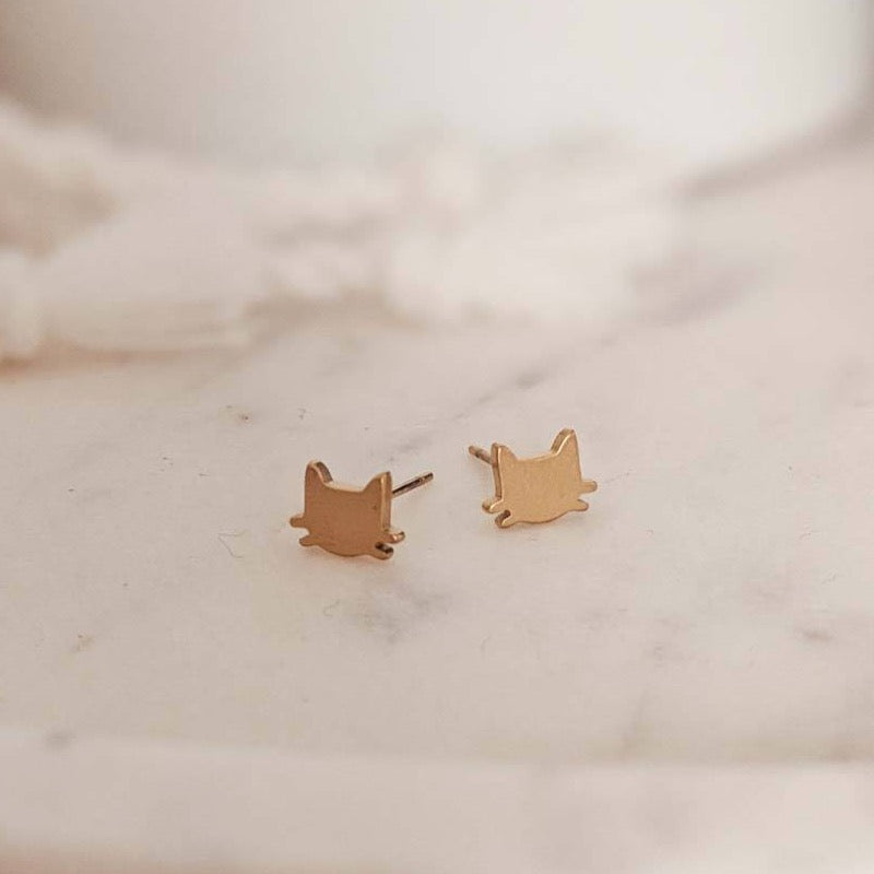 Deux Petits Chats Earrings | MIMI & AUGUST