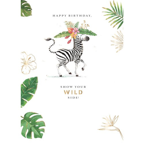 Wild Side - Greeting Card
