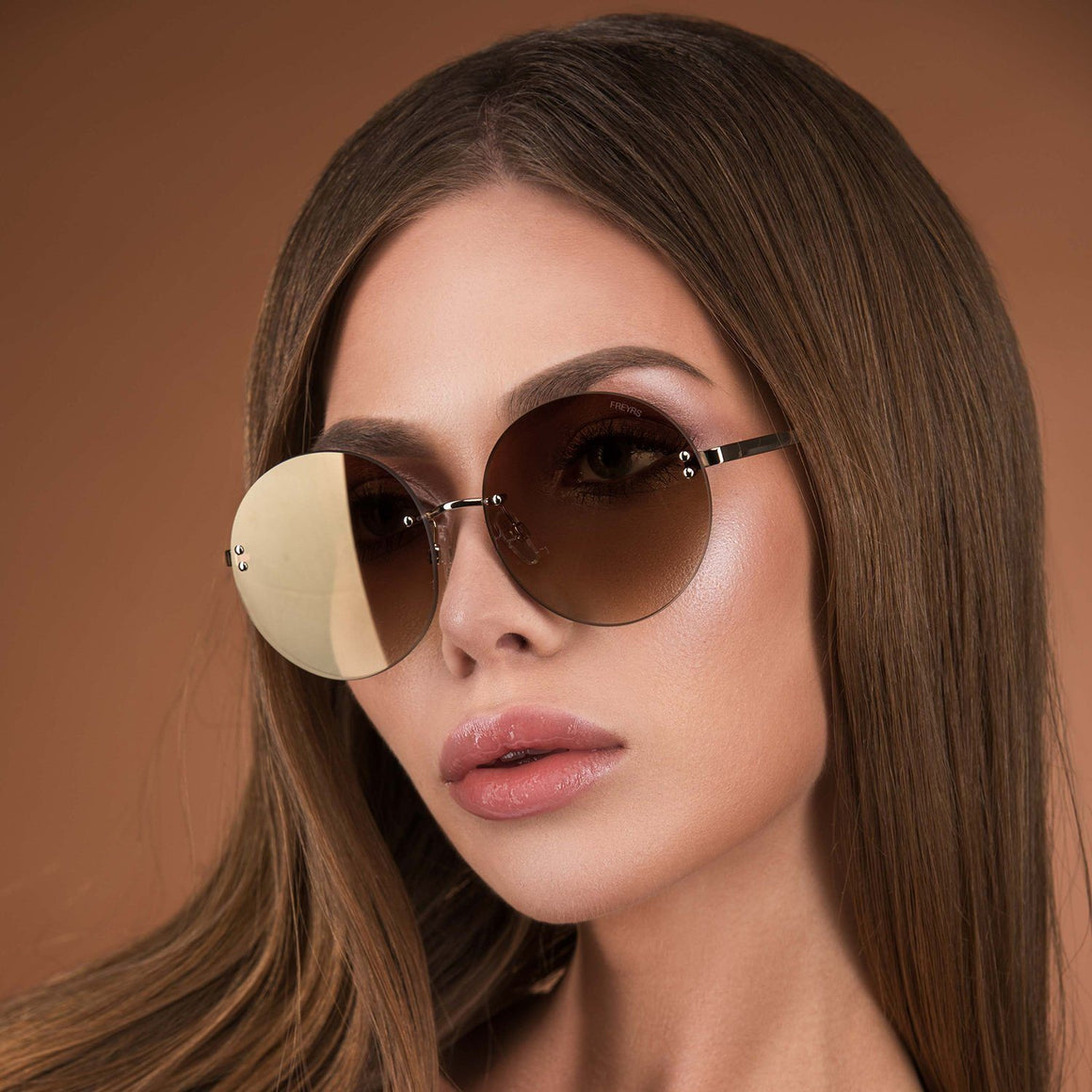 Lisa Sunnies - Gold/Gold | FREYRS