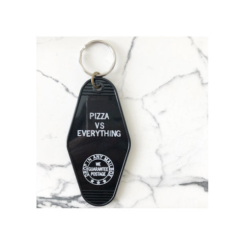 Pizza vs. Everything - Key Tag
