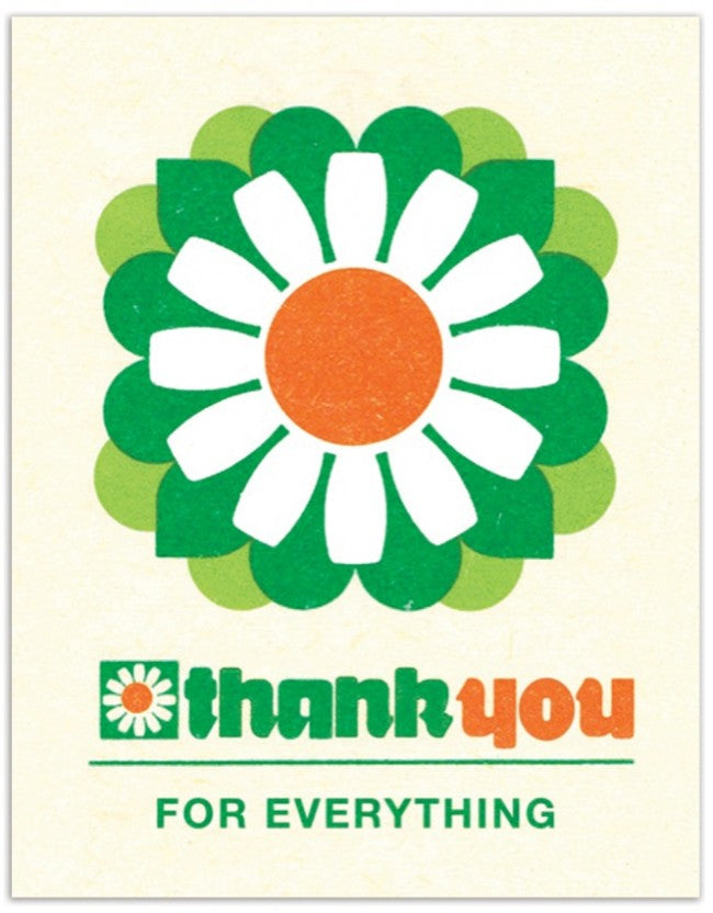 Daisy Thank You - Greeting Card