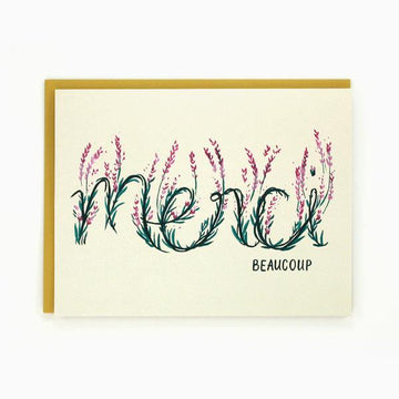 Merci Beaucoup - Greeting Card