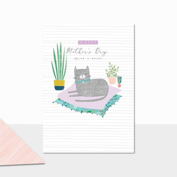 Mother's Day Cat - Greeting Card