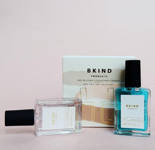 Non-Toxic Nail Polish Duo: Base & Top Coat | BKIND | JV Studios Boutique