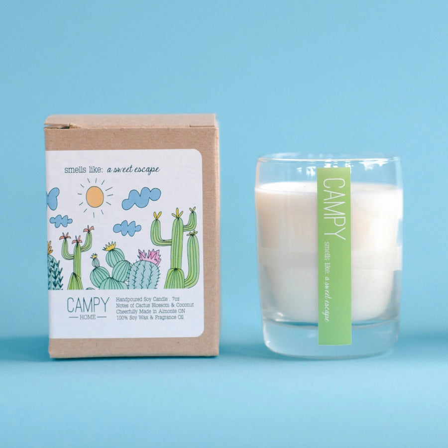 CAMPY CANDLES | Sweet Escape Candle | JV Studios & Boutique