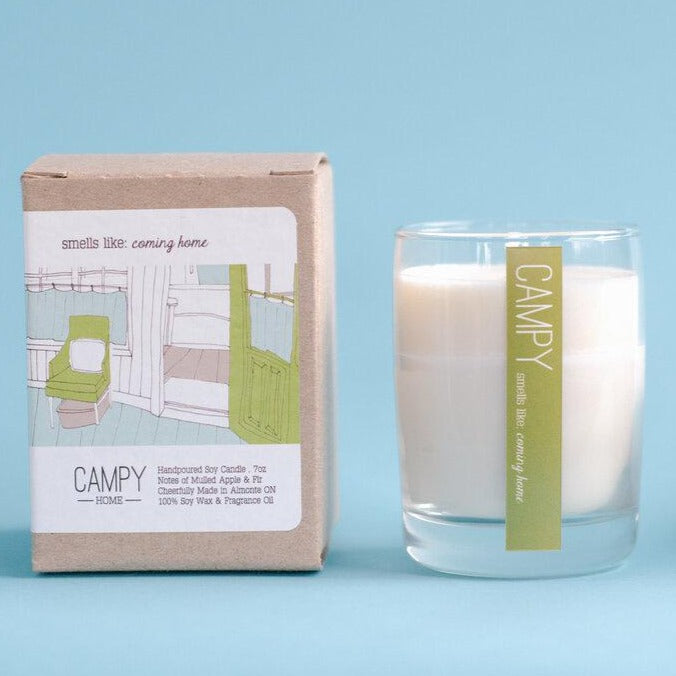 Coming Home Candle | CAMPY CANDLES