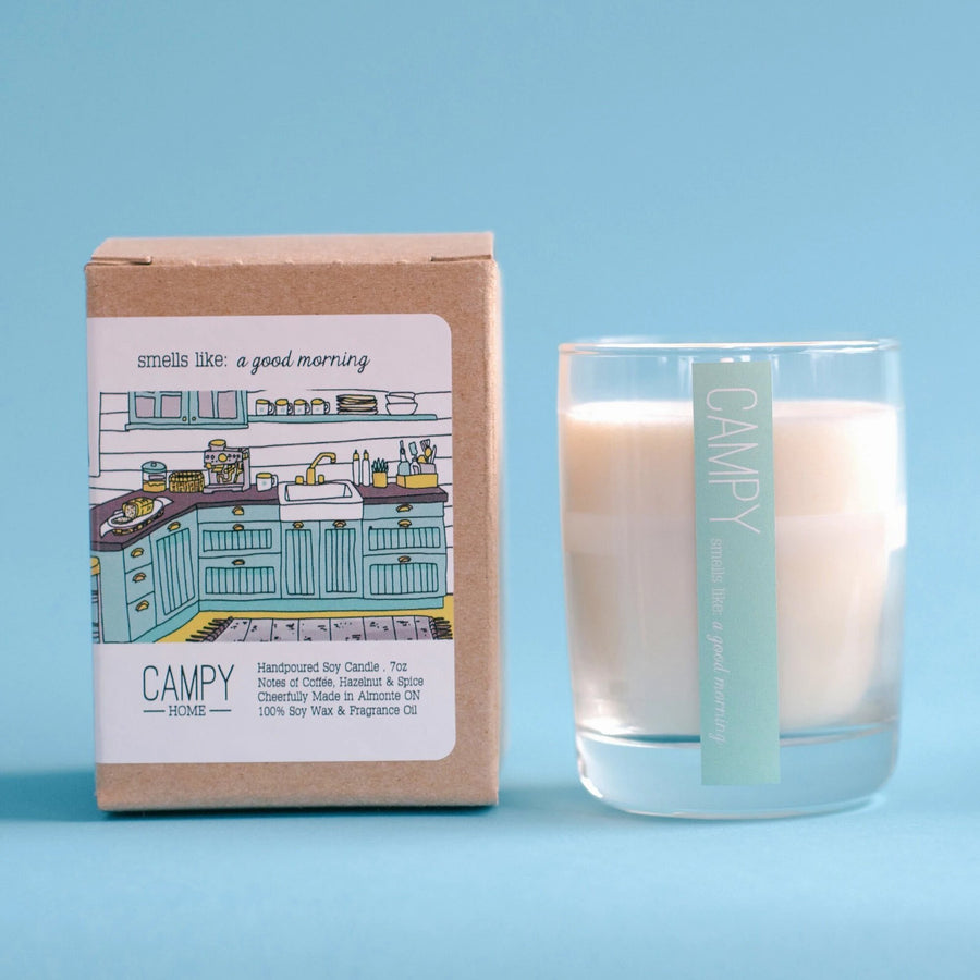 CAMPY CANDLE | A Good Morning | JV Studios & Boutique