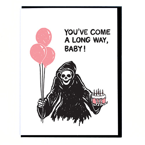 You've Come a Long Way,  Baby - Greeting Card