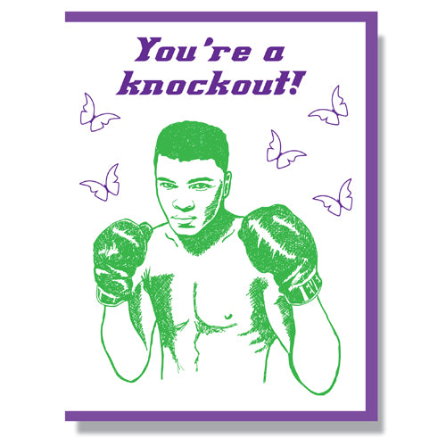 Muhammad Ali - Greeting Card