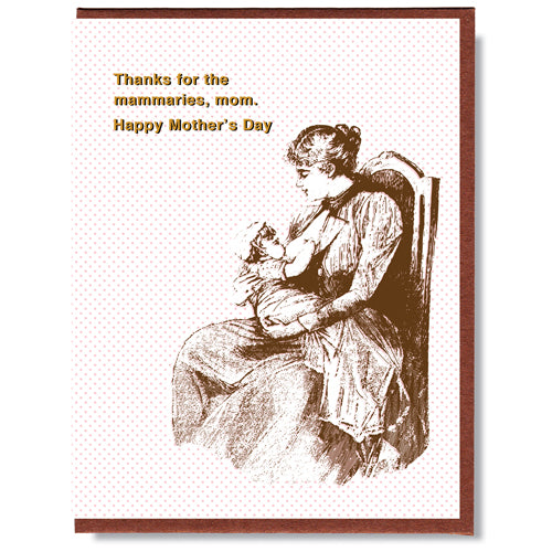 Mammaries - Greeting Card