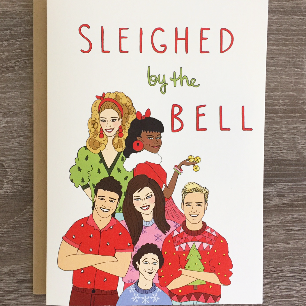 Sleighed By The Bell - Holiday Card
