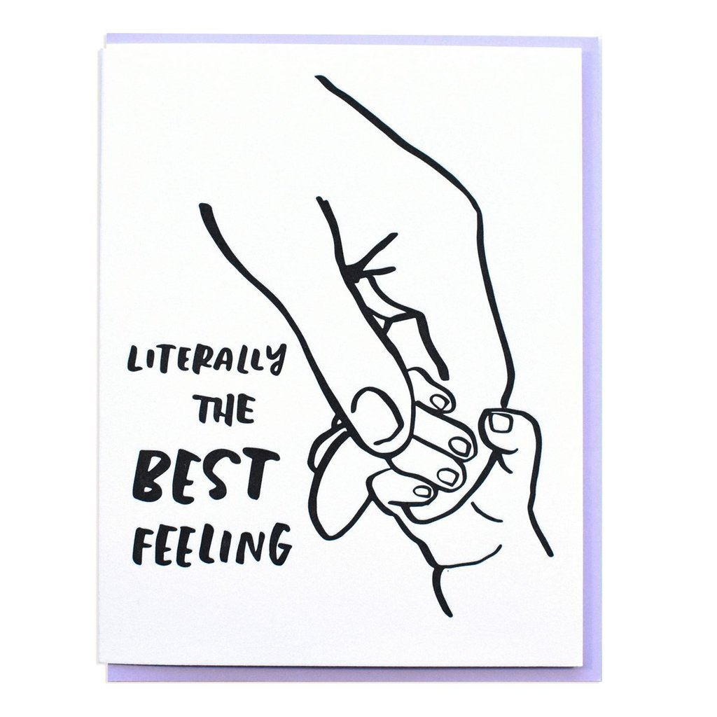 Tiny Hand - Greeting Card
