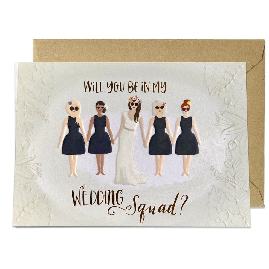 Wedding Squad  - Greeting Card