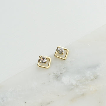 Swarovski Diamond Studs (various colours) | LOVER'S TEMPO | JV Studios Boutique