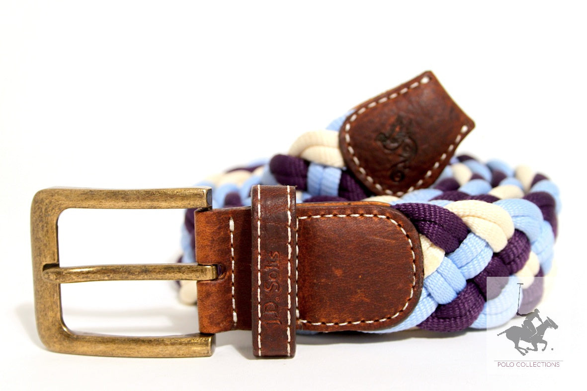 Polo Belt | Fashion Belt | Rope Polo Belt | JDSolis Belt