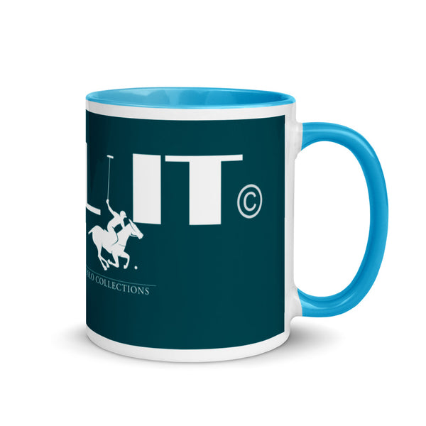The Tail It Polo Mug with Color Inside