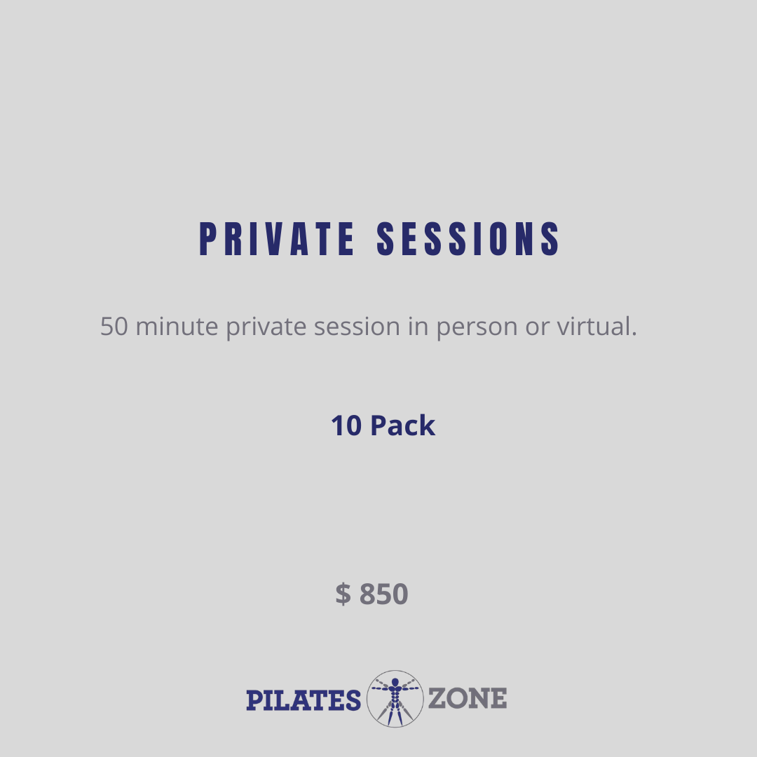 Private Session - 10 Pack