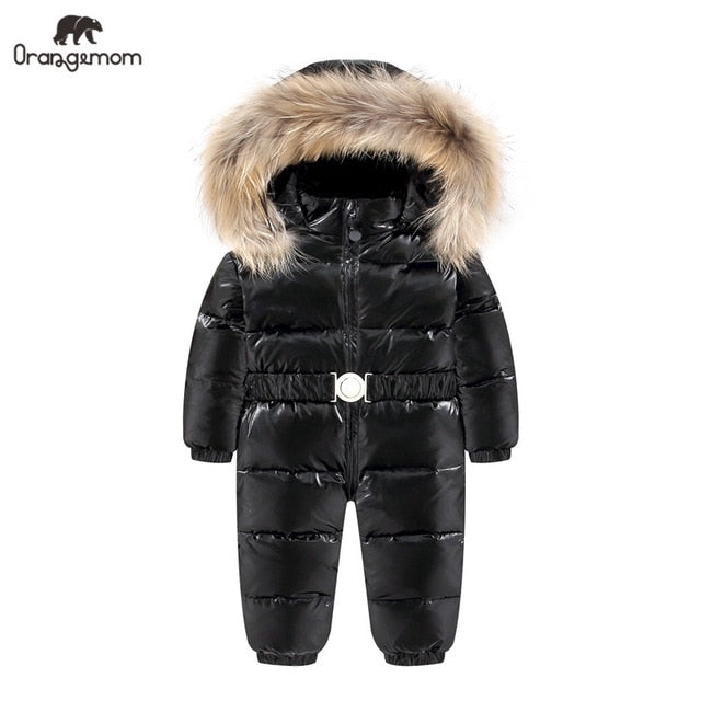 Baby / Toddler Winter Hooded Snowsuit