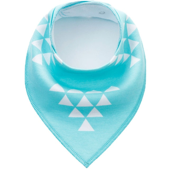 Baby Triangle Cotton Bibs