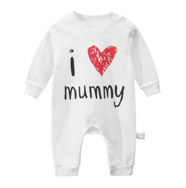 Newborn Baby Long Sleeve Rompers