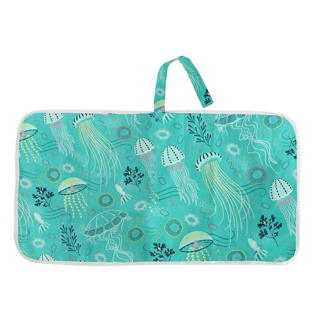Multifunctional Waterproof Portable Infant Baby Diaper Changing Pad
