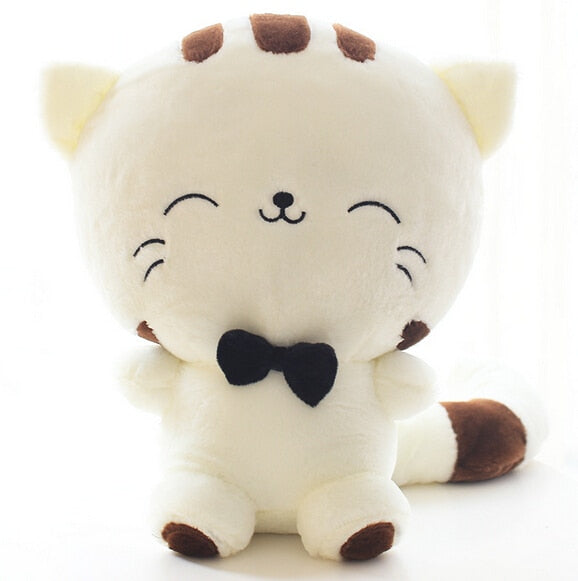 Cute Kawaii Cat with Bow Plush Dolls 20CM