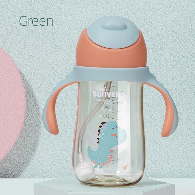 Baby Water Bottle Sippy Cup 6-24M