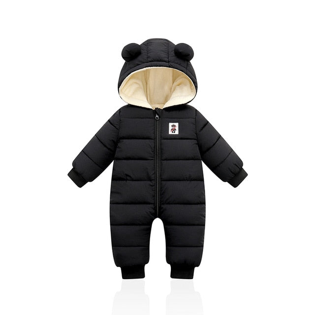 Baby / Toddler Winter Plus Hooded Overalls