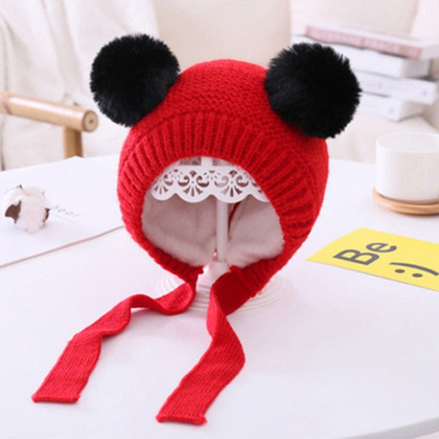 Knitted Baby Winter Hat