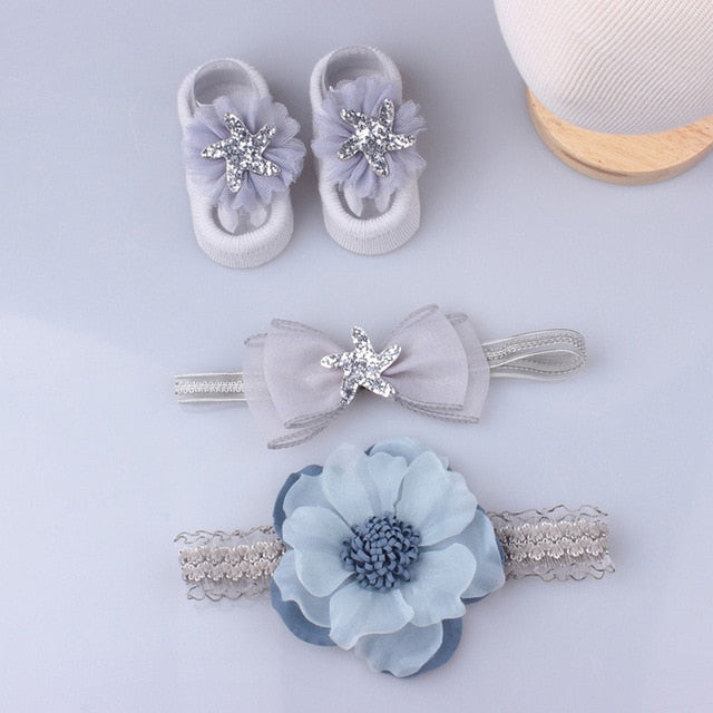 3Piece Lace Baby Girl Headband