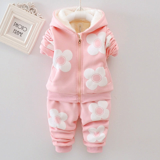 Baby / Toddler Warm Sports Suit  Set