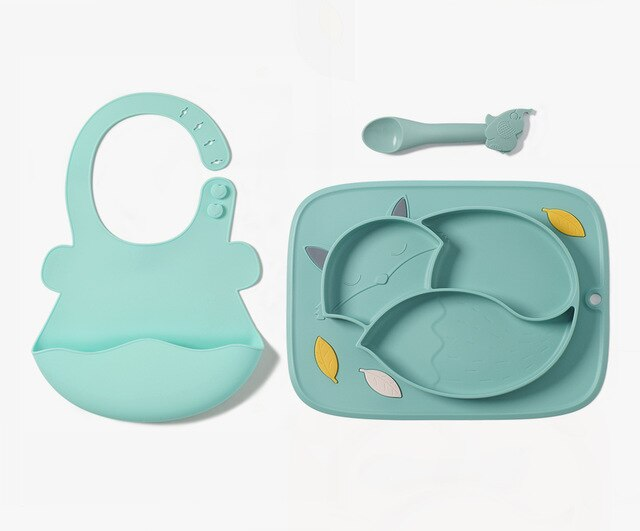 Baby 3in1 Dishes and Plates Set