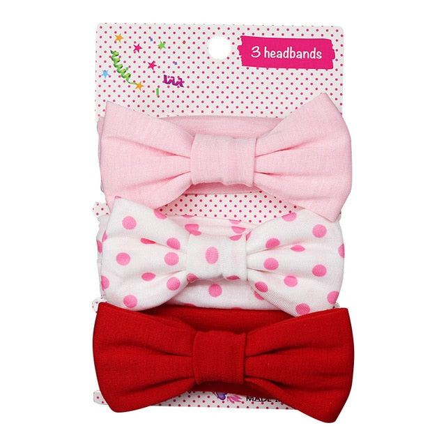 3 Piece Baby Headband Accessories