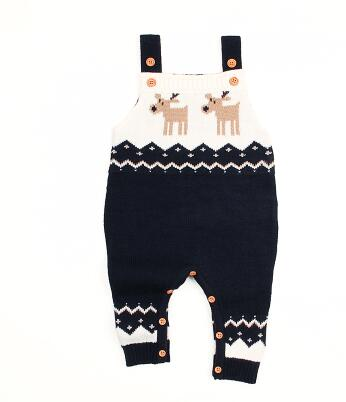 Baby / Toddler Knitted Rompers