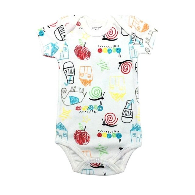 Baby / Toddler Short Sleeve Jumpsuit