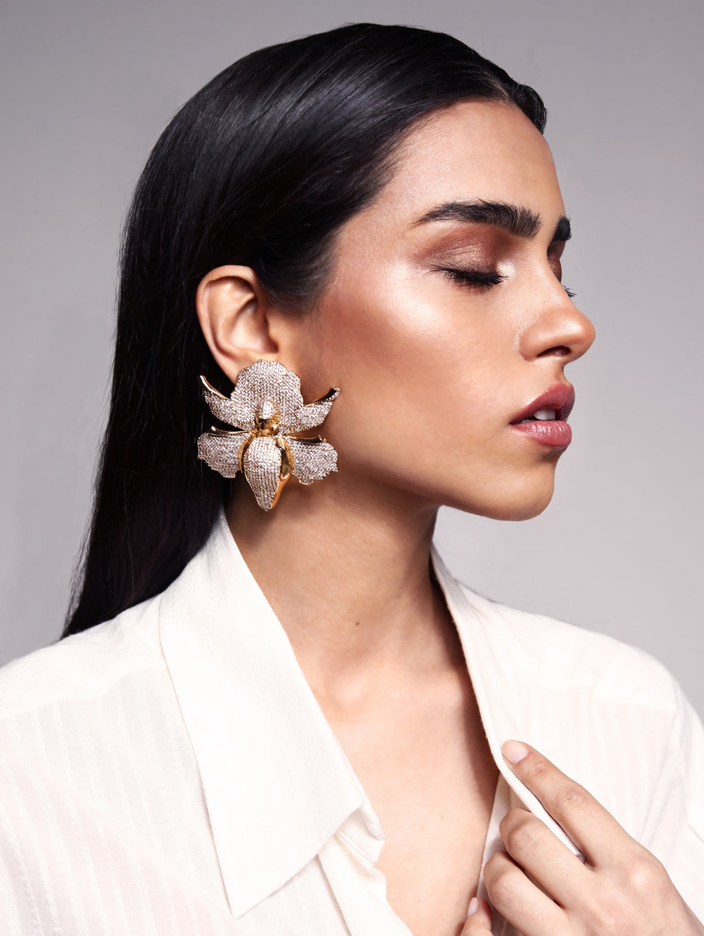 Khari Bulbul Large Earrings