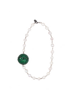 Pearl Emerald Green Necklace