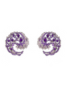 Caspia Amethyst Earrings