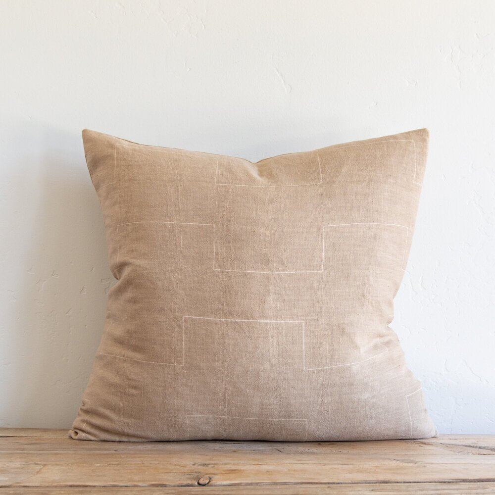 Harlow Caramel Pillow