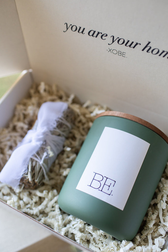 BE. AT HOME ESSENTIALS GIFT BOX