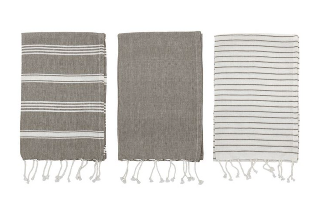 Leila Striped Kitchen Towels