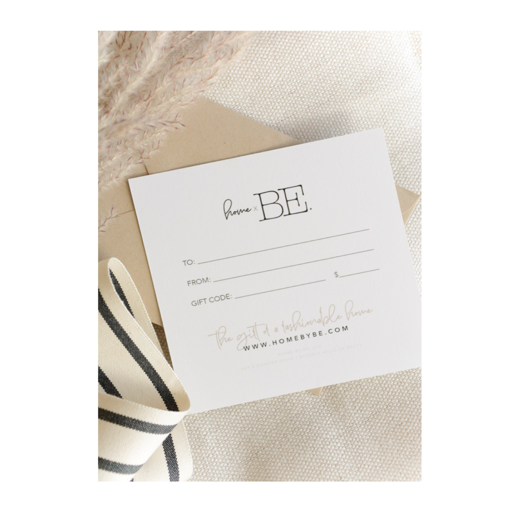 HOME by BE. GIFT CARD