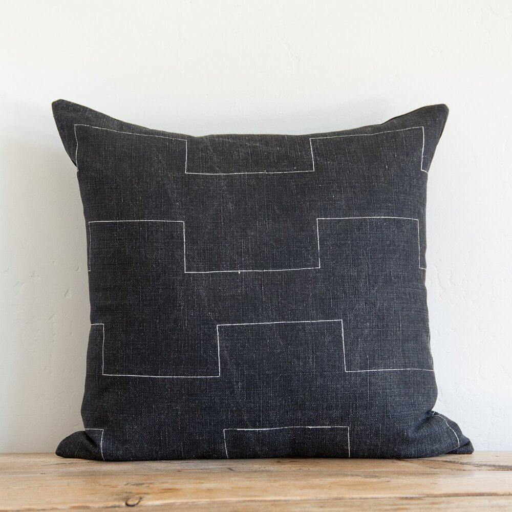 Harlow Noir Pillow