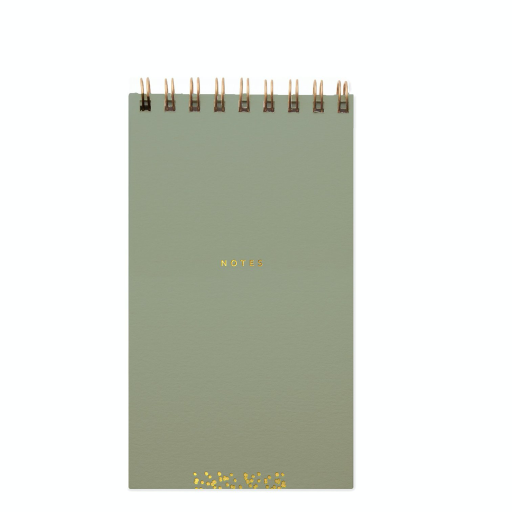 Slim Notebook: Olive-Gray