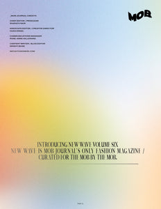 NEW WAVE | VOLUME SIX | ISSUE #01