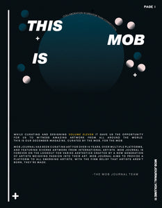 MOB JOURNAL | VOLUME ELEVEN | ISSUE #15