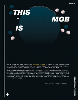MOB JOURNAL | VOLUME ELEVEN | ISSUE #09