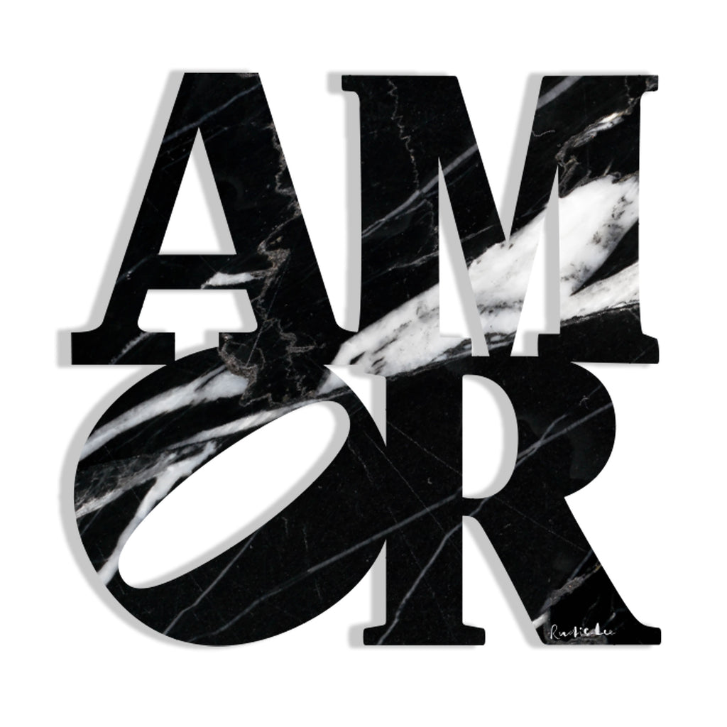 Amor (Black Stone) by Rudie Lee