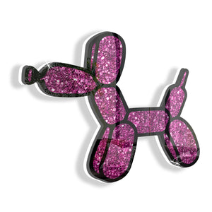 Balloon Dog (Pink) by Rudie Lee