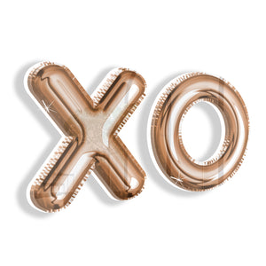 Balloon XO (Rose Gold) by Rudie Lee